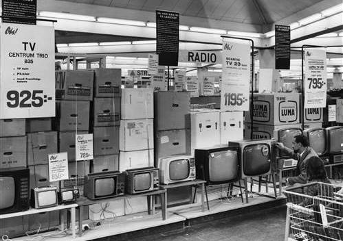 OBS! Vårby T.V and Radio from Handelns Historia